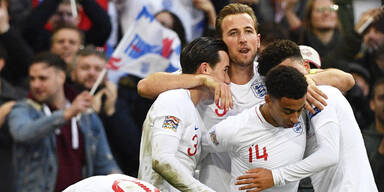 England nach 2:1 Gruppensieger