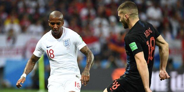 2:1 - Kroatien lässt Englands Träume platzen