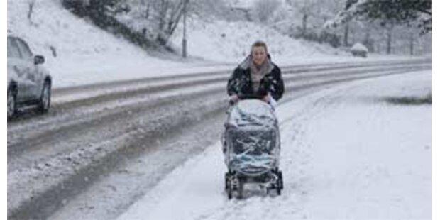 Wieder Wetterchaos in England und Wales