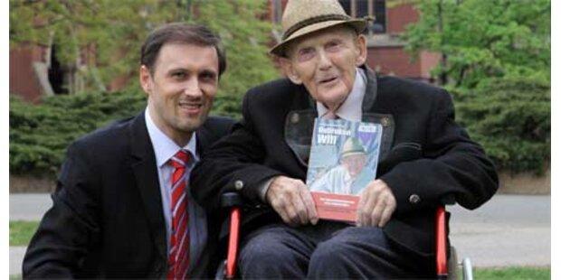 Ältester  KZ-Überlebender aus Ö on Tour
