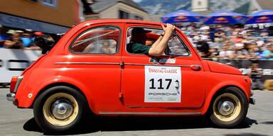 Ennstal Classic: Mini hängte Porsches ab