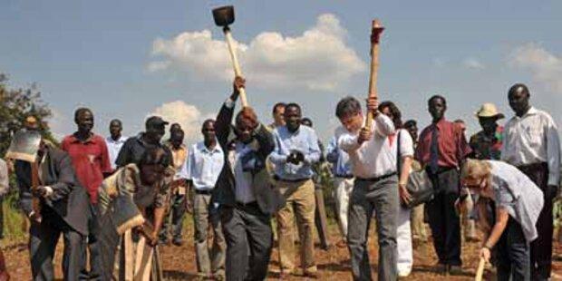 Wieder weniger Entwicklungshilfe aus Ö