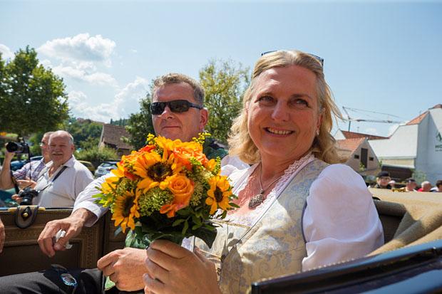 Karin Kneissl Hochzeitsfotos