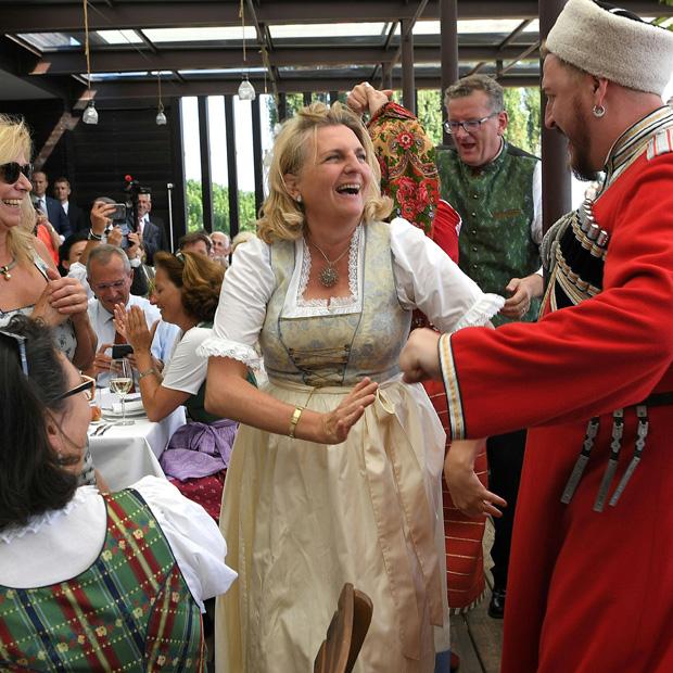 Kneissl-Hochzeit