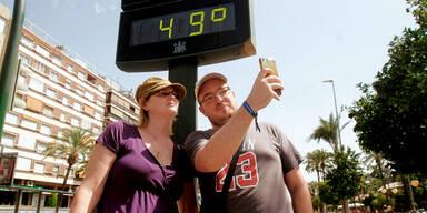 49 Grad! Europas Hitze-Rekord