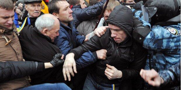 Ukraine: Aufruf zum Kampf