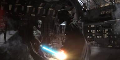Epischer Kampf: Batman vs. Darth Vader