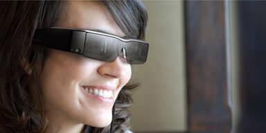 Epson stellt Google-Glass-Gegner vor