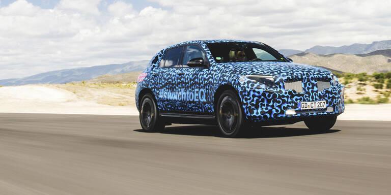 Mercedes' Elektro-SUV im Hitzetest