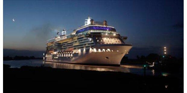 Neuer Luxusliner kreuzt auf den Ozeanen