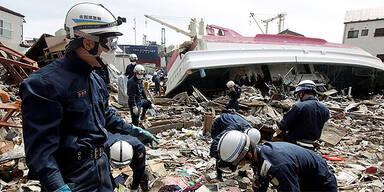 Erdbeben in der Region Iwate in Nordjapan