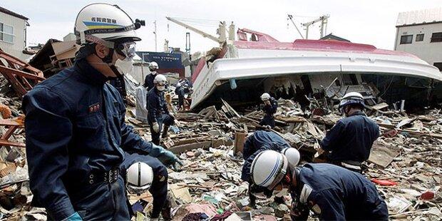 Schweres Erdbeben in Nordjapan