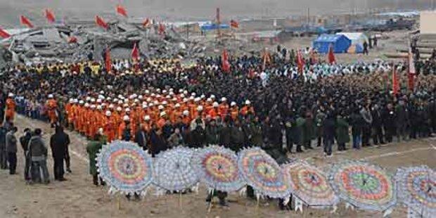 China gedenkt bisher 2.064 Erdbebentoten