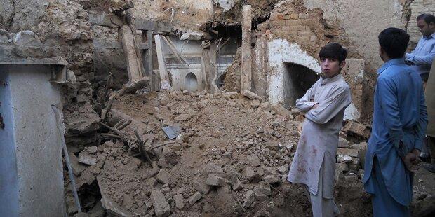 Erdbeben am Hindukusch: Über 300 Tote