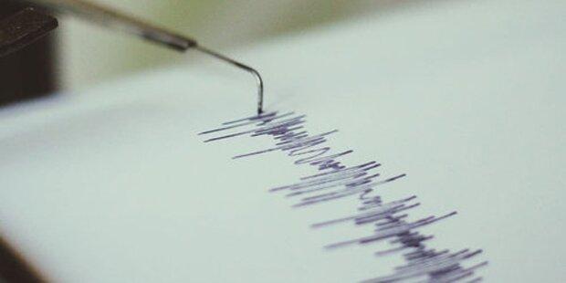 Erdbeben der Stärke 1,9 in Vorarlberg