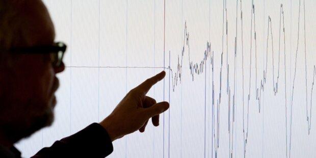 Erdbeben in Salzburg und Bayern