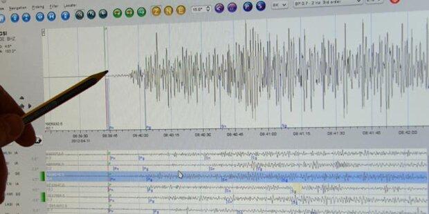 Starkes Erdbeben nahe Algier
