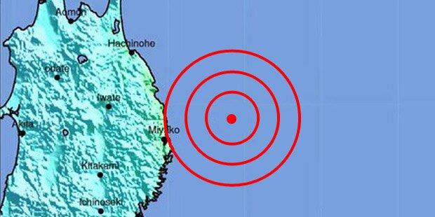 Japan: Mini-Tsunami nach Erdbeben