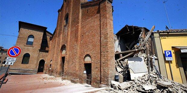 Neues Nachbeben in Norditalien
