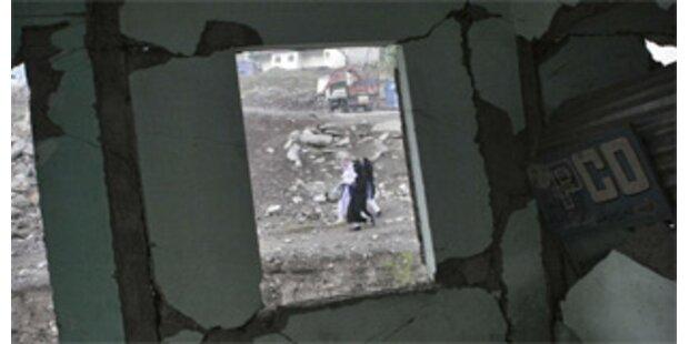 13 Tote nach Erdbeben in Tschetschenien