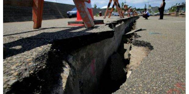 Erdbeben erschüttert Großraum Tokio
