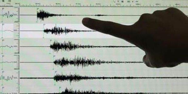 Erdbeben erschüttert Japan