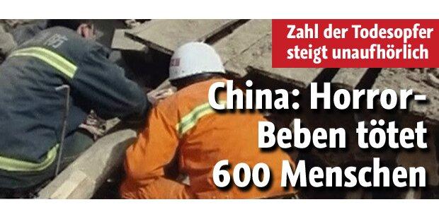 Horror-Beben fordert 600 Tote