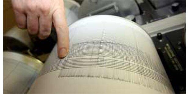 Leichtes Erdbeben im Bezirk Mürzzuschlag