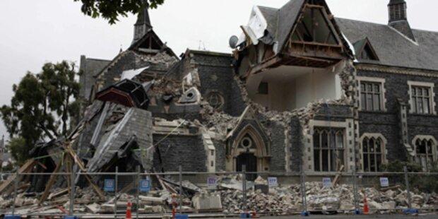 65 Tote bei schwerem Erdbeben