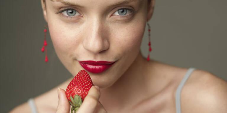 So schön machen Sie Erdbeeren