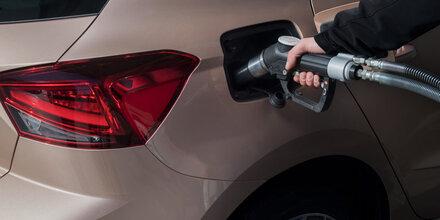 Erdgasauto-Käufer tanken 1 Jahr gratis