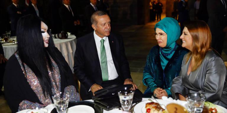 Erdogan lud Transsexuelle zum Fastenbrechen ein
