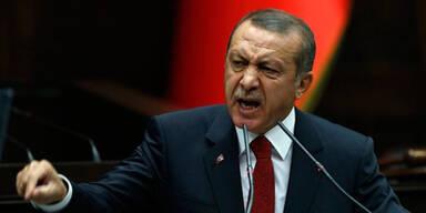 erdogan wütend