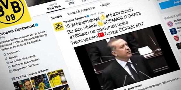Erdogan-Anhänger hacken Dortmund