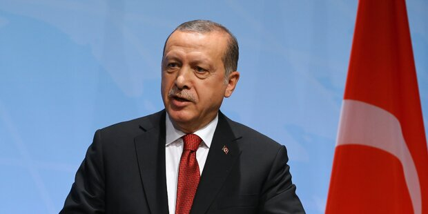 Erdogan droht mit
