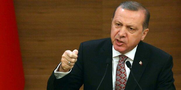 Erdogan wirft jetzt Bomben gegen Kurden