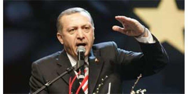 Erdogan erntet heftige Kritik