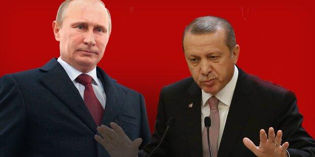 Putin hebt Sanktionen gegen Türkei auf