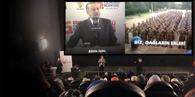 Erdogan-Fans feiern Syrien-Gemetzel