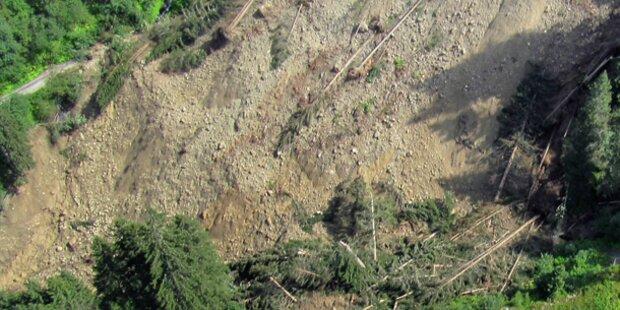 Tausende Kubikmeter Fels abgebrochen