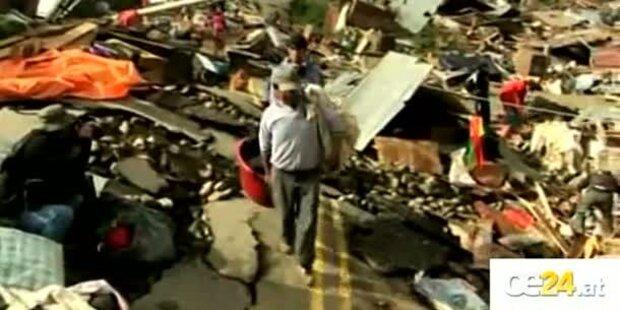Erdrutsch in La Paz. 5000 Obdachlose