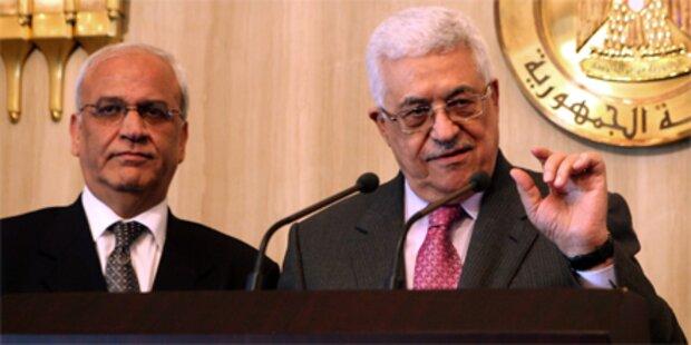 Rücktritt von Nahost-Chefverhandler Erekat
