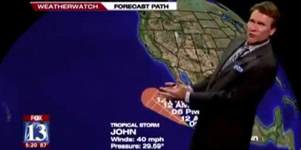 Wettermoderator bekommt
