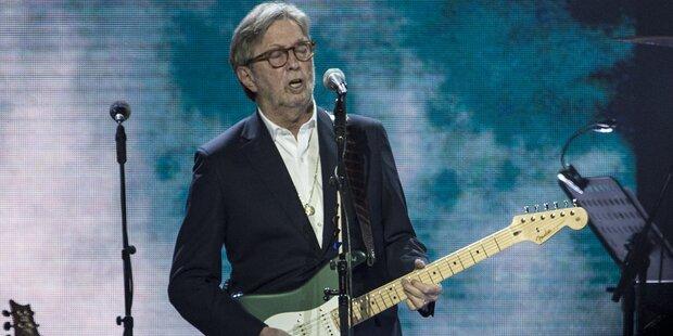Sex, Drugs & Rock 'n' Roll: Gitarrengott Clapton wird 75