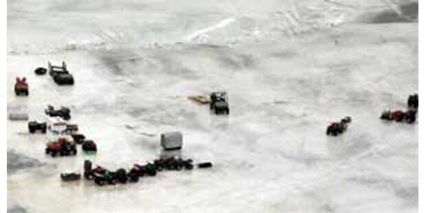 125 Fischer von Eisscholle im Eriesee gerettet