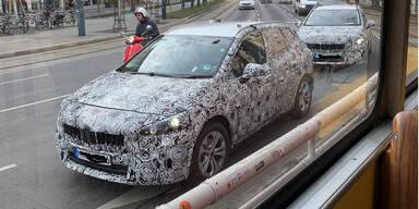BMW-Erlkönige am Wiener Ring unterwegs