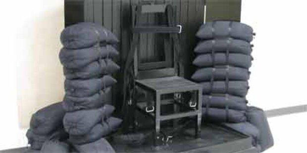 US-Häftling vor blutiger Hinrichtung