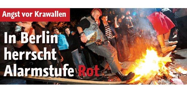 Alarmstufe Rot in Berlin