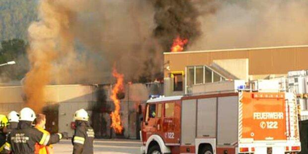 Feuerwehr verhinderte ein Inferno