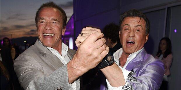 Stallone: Bühnenshow mit Arnie